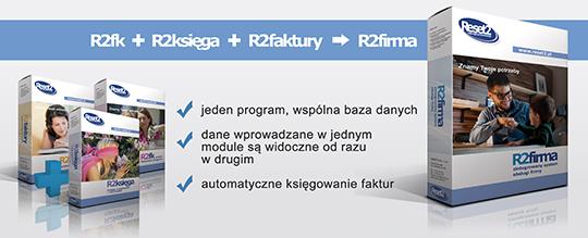 R2firma - zintegrowany system obsługi firmy
