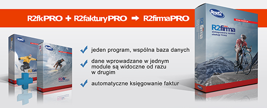 R2firmaPRO - zintegrowany system obsługi firmy